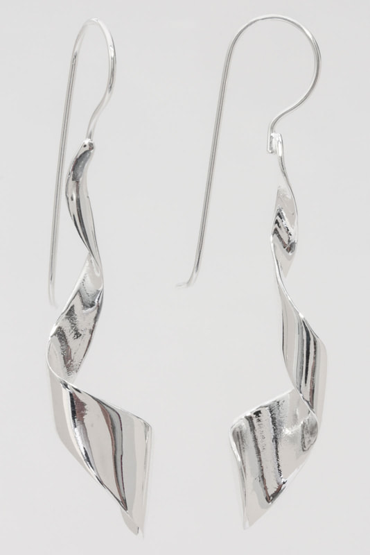 Jewelry Photography silver earrings