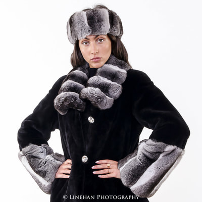 Modeling fur coat for e commerce website
