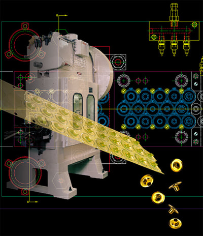 Photoshop Composite of Industrial equipment and product.