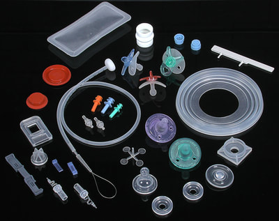 Silicone products, product photography, plastics industry