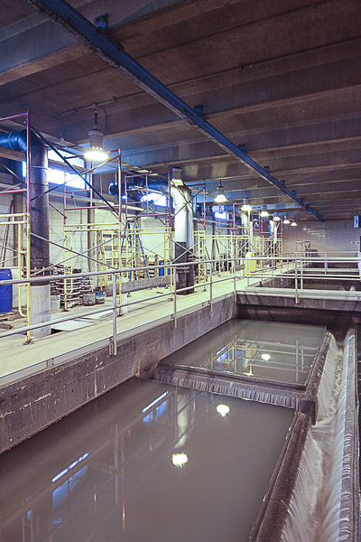 Industrial Location Photography - Water Treatment Plant