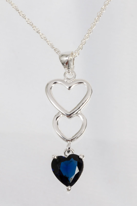 Jewelry Photography silver and precious stone
