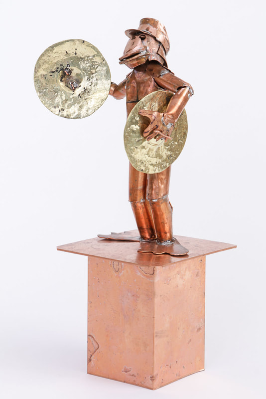 Artwork Photography Mixed Media and Copper Sculpture